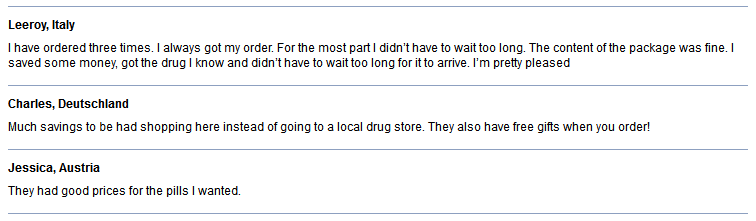 Online Pills Reviews